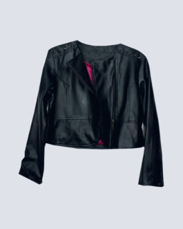 Girls Pleather jacket